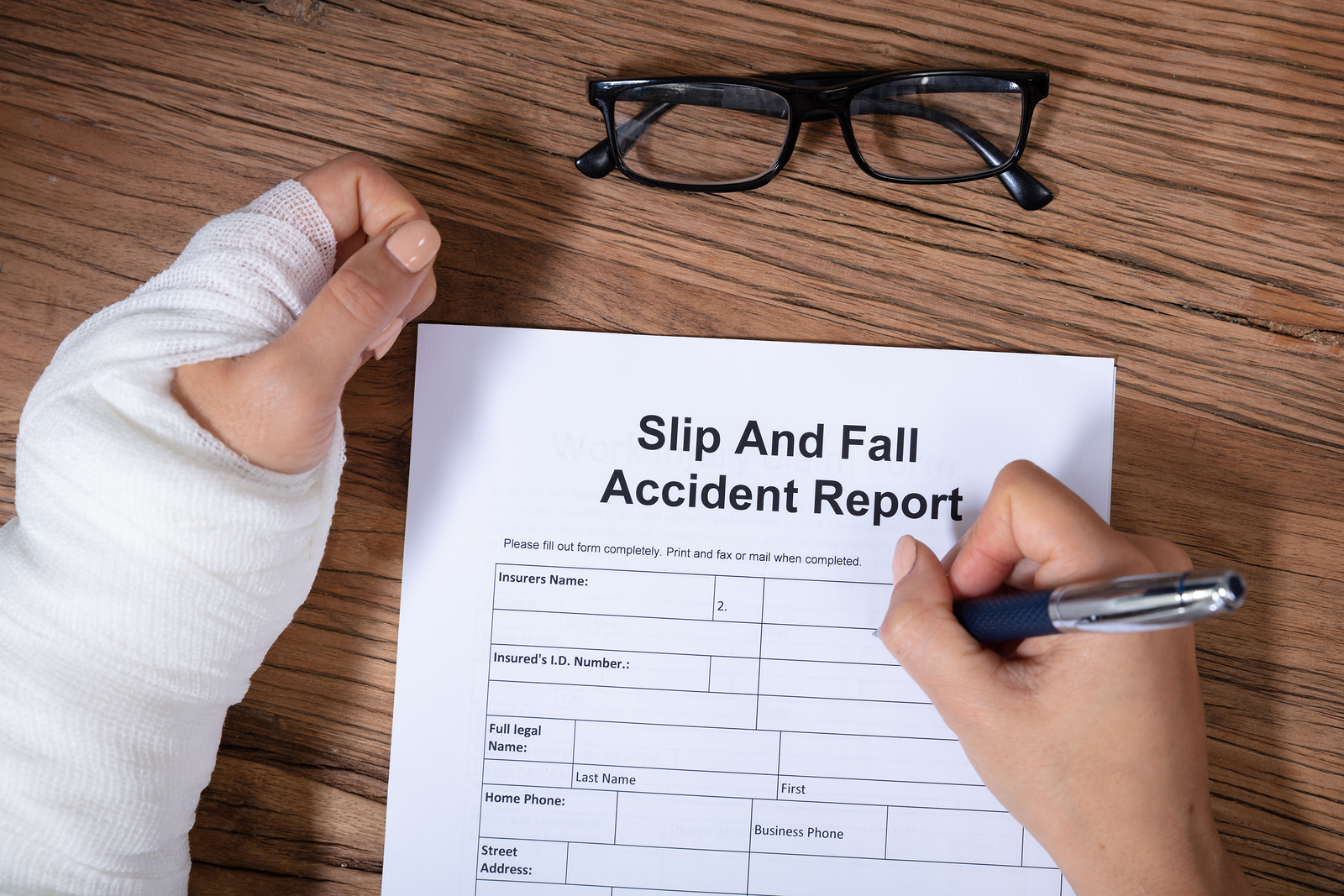 Who is Responsible for a Slip and Fall Accident at a Store